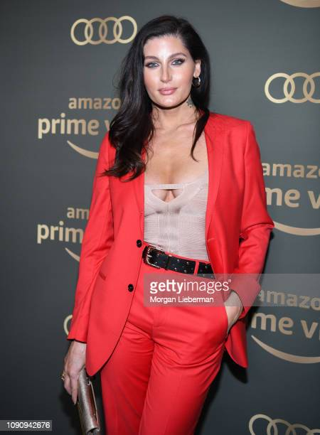 Trace Lysette arrives at Amazon Prime Video's Golden Globe Awards After Party at The Beverly Hilton Hotel on January 06 2019 in Beverly Hills...