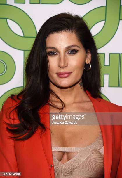 Trace Lysette arrives at HBO's Official Golden Globe Awards After Party at Circa 55 Restaurant on January 06 2019 in Los Angeles California