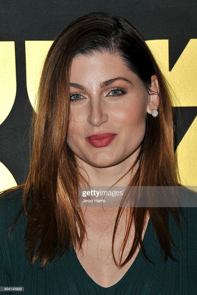 Trace Lysette arrives at the STARZ Pre-Golden Globe Celebration at Chateau Marmont on January 8, 2016 in Los Angeles, California.