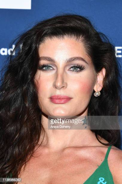 Trace Lysette at the 30th Annual GLAAD Media Awards at The Beverly Hilton Hotel on March 28 2019 in Beverly Hills California