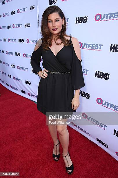 Trace Lysette attends a Amazon Original Series Transparent Screening At Outfest Los Angeles at DGA Theater on July 10 2016 in Los Angeles California