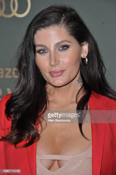 Trace Lysette attends Amazon Prime Video's Golden Glove Awards after party at The Beverly Hilton Hotel on January 06 2019 in Beverly Hills California