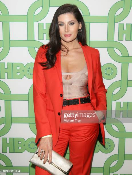 Trace Lysette attends HBO's Official Golden Globe Awards After Party held at Circa 55 Restaurant on January 06 2019 in Los Angeles California