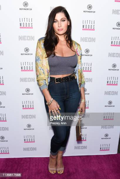 Trace Lysette attends Premiere Of Refinery 29's Little Woods at NeueHouse Hollywood on April 01 2019 in Los Angeles California