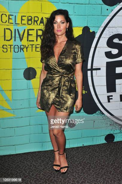 Trace Lysette attends the 13th Annual NBCUniversal Short Film Festival Finale Screening And Awards Ceremony at Directors Guild Of America on October...