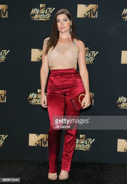 Trace Lysette attends the 2017 MTV Movie and TV Awards at The Shrine Auditorium on May 7 2017 in Los Angeles California