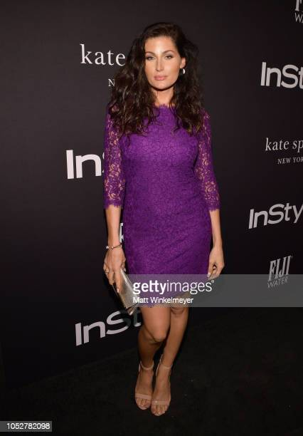Trace Lysette attends the 2018 InStyle Awards at The Getty Center on October 22 2018 in Los Angeles California