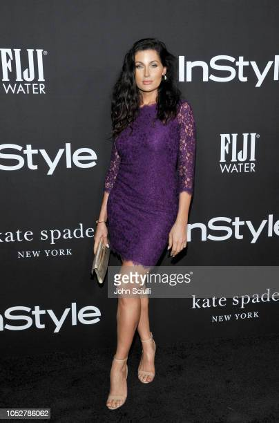 Trace Lysette attends the 2018 InStyle Awards with Fiji Water on October 22 2018 in Los Angeles California