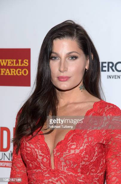 Trace Lysette attends the 28th Annual Divas Simply Singing Benefit Concert at Taglyan Cultural Complex on December 09 2018 in Hollywood California