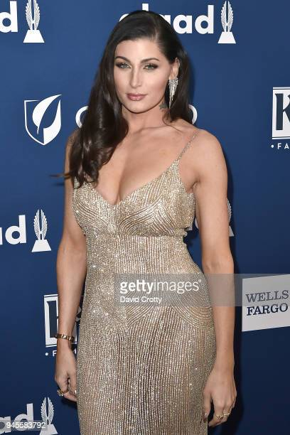 Trace Lysette attends the 29th Annual GLAAD Media Awards Arrivals at The Beverly Hilton Hotel on April 12 2018 in Beverly Hills California