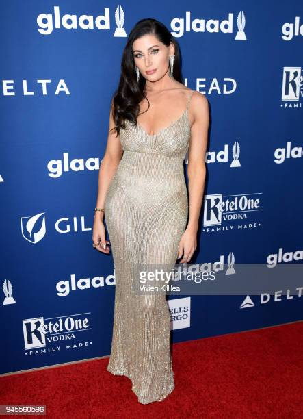Trace Lysette attends the 29th Annual GLAAD Media Awards at The Beverly Hilton Hotel on April 12 2018 in Beverly Hills California