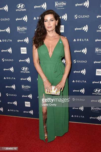 Trace Lysette attends the 30th Annual GLAAD Media Awards at Beverly Hills Hotel on March 28 2019 in Beverly Hills California