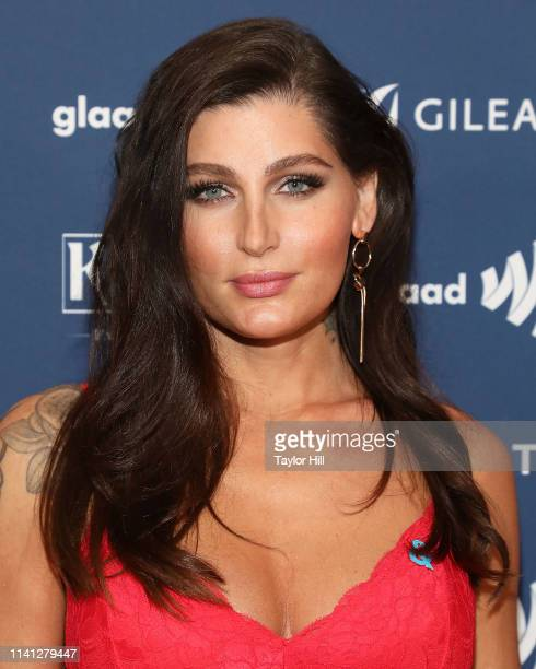 Trace Lysette attends the 30th Annual GLAAD Media Awards at New York Hilton Midtown on May 4 2019 in New York City