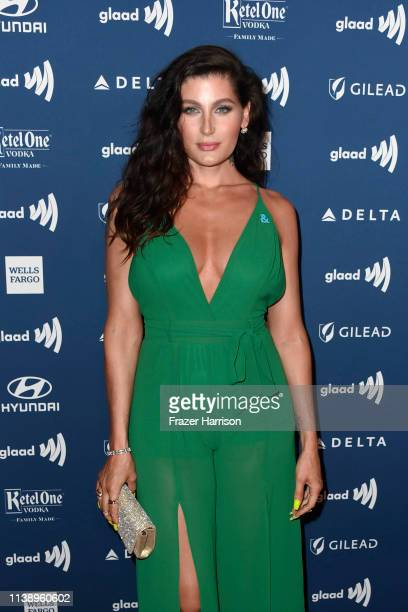 Trace Lysette attends the 30th Annual GLAAD Media Awards at The Beverly Hilton Hotel on March 28 2019 in Beverly Hills California