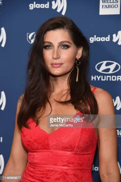 Trace Lysette attends the 30th Annual GLAAD Media Awards New York at New York Hilton Midtown on May 04 2019 in New York City