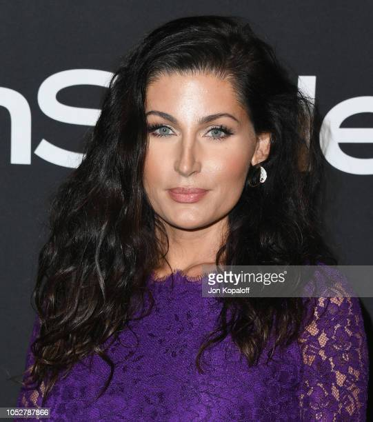 Trace Lysette attends the 4th Annual InStyle Awards at The Getty Center on October 22 2018 in Los Angeles California