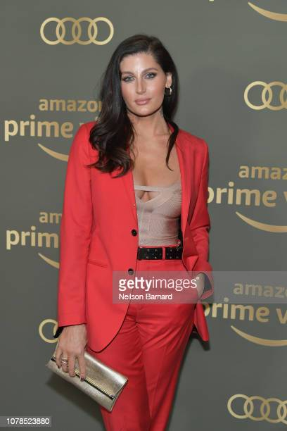 Trace Lysette attends the Amazon Prime Video's Golden Globe Awards After Party at The Beverly Hilton Hotel on January 6 2019 in Beverly Hills...