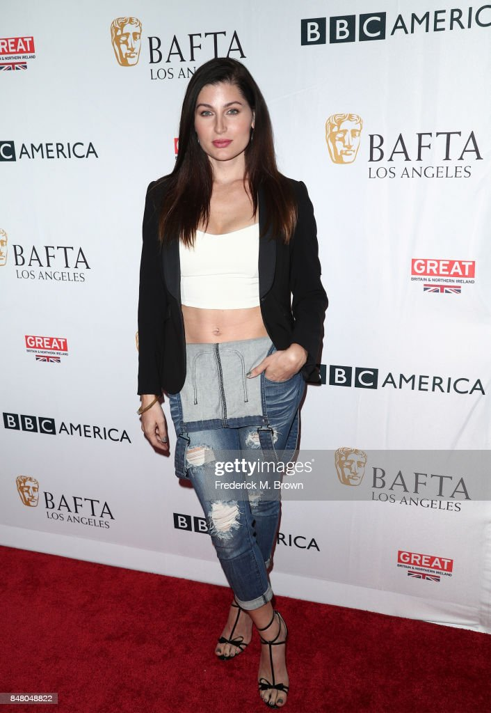 Trace Lysette attends the BBC America BAFTA Los Angeles TV Tea Party 2017 at The Beverly Hilton Hotel on September 16, 2017 in Beverly Hills, California.