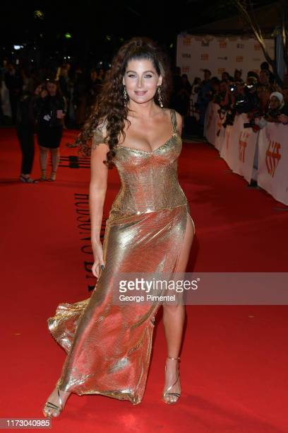 Trace Lysette attends the Hustlers premiere during the 2019 Toronto International Film Festival at Roy Thomson Hall on September 07 2019 in Toronto...