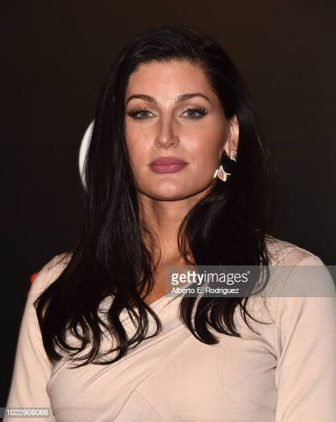 Trace Lysette attends the Opening Night of Ain't Too Proud The Life And Times Of The Temptations at the Ahmanson Theatre on August 24 2018 in Los...
