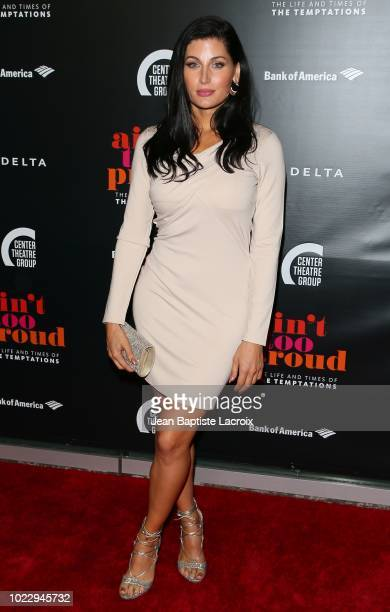 Trace Lysette attends the Opening Night of 'Ain't Too Proud The Life And Times Of The Temptations' at the Ahmanson Theatre on August 24 2018 in Los...