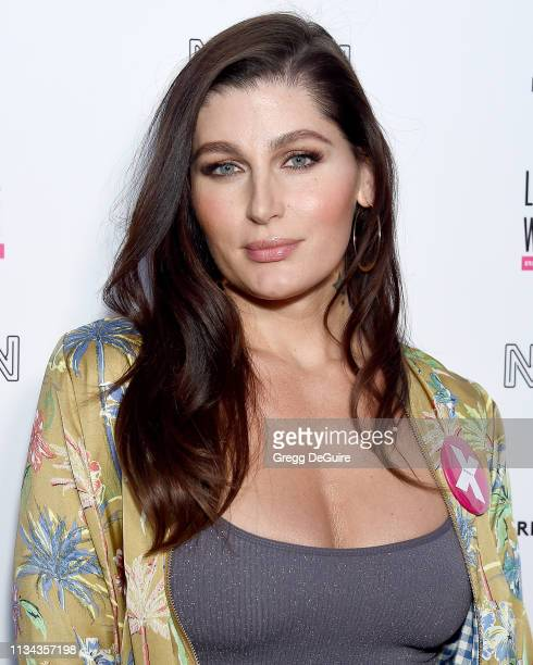 Trace Lysette attends the Premiere Of Refinery 29's Little Woods at NeueHouse Hollywood on April 1 2019 in Los Angeles California