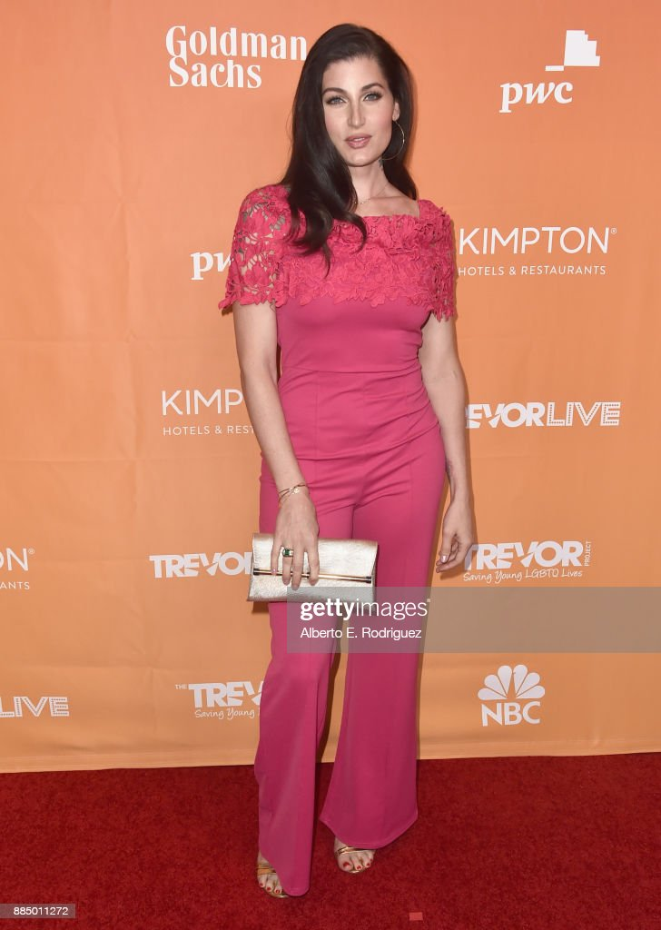 Trace Lysette attends The Trevor Project's 2017 TrevorLIVE LA on December 3, 2017 in Beverly Hills, California.