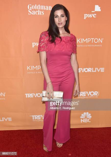 Trace Lysette attends The Trevor Project's 2017 TrevorLIVE LA on December 3 2017 in Beverly Hills California