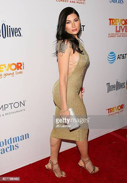 Trace Lysette attends the TrevorLIVE Los Angeles 2016 Fundraiser on December 04 2016 in Beverly Hills California