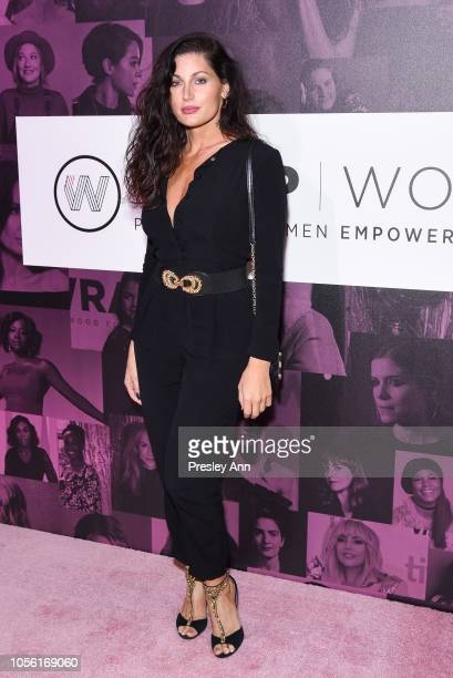 Trace Lysette attends TheWrap's Power Women Summit at InterContinental Los Angeles Downtown on November 1 2018 in Los Angeles California