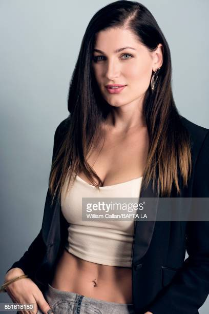 Trace Lysette from 'Transparent' poses for a portrait BBC America BAFTA Los Angeles TV Tea Party 2017 at the The Beverly Hilton Hotel on September 16...