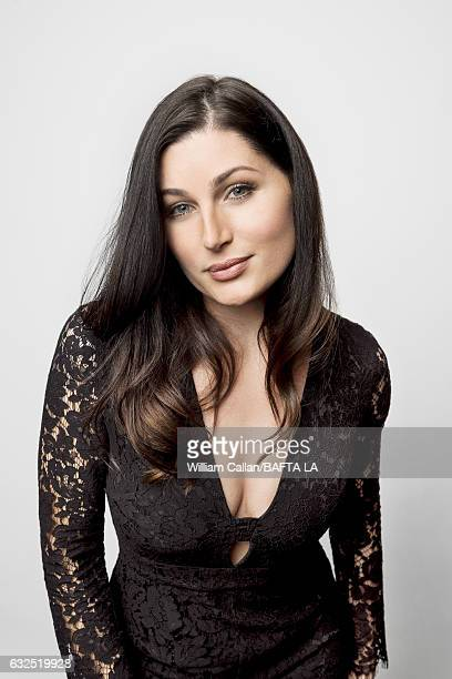 Trace Lysette poses for a portraits at the BAFTA Tea Party at Four Seasons Hotel Los Angeles at Beverly Hills on January 7 2017 in Los Angeles...