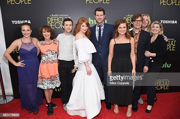 Tracee Chimo Andrea Martin Cory Escola Julie Klausner Billy Eichner Amy Poehler James Urbaniak Scott King and Debra Monk attend Hulu Original...
