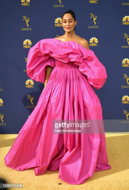 Tracee Ellis attends the 70th Emmy Awards at Microsoft Theater on September 17 2018 in Los Angeles California