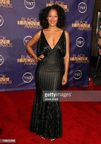 Tracee Ellis Ross 12556_JG_0729jpg during 2006 TNT Black Movie Awards Arrivals at Wiltern Theatre in Los Angelses California United States