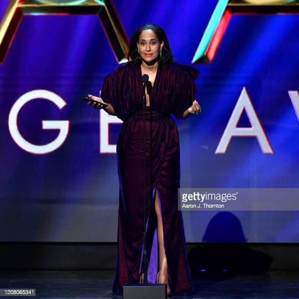 Tracee Ellis Ross accepts the Outstanding Actress in a Comedy Series award for Blackish onstage during the 51st NAACP Image Awards Presented by BET...