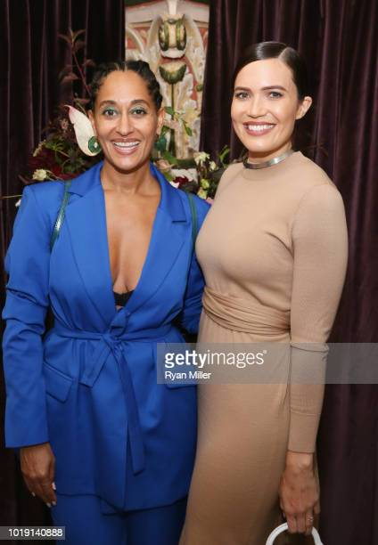 Tracee Ellis Ross and Mandy Moore attend Harper's BAZAAR and the CDG celebrate Excellence in Television Costume Design with the Emmy Nominated...