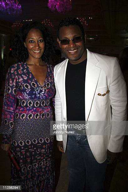 Tracee Ellis Ross and Sammy Sosa during Russell Simmons' 2nd Annual Art for Life Benefit at Mar a Lago - Day 2 at Mar a Lago in Palm Beach, Florida,...