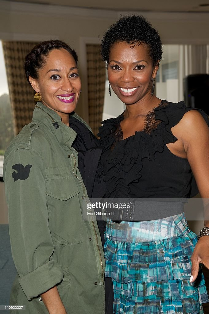 Tracee Ellis Ross And Vanessa Williams At The Brotherhood Sister Sol Fundraiser Beverly