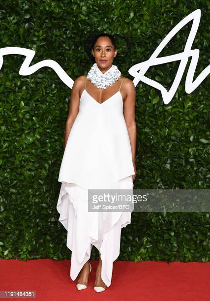 Tracee Ellis Ross arrives at The Fashion Awards 2019 held at Royal Albert Hall on December 02, 2019 in London, England.