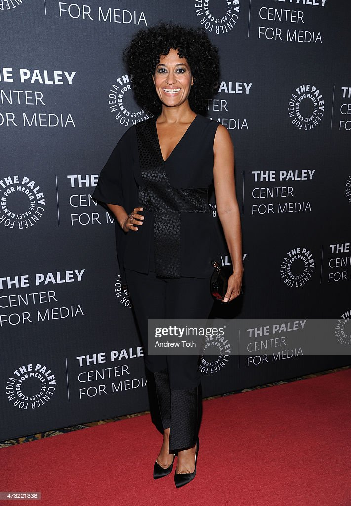 Tracee Ellis Ross attends A Tribute To African-American Achievements In Television hosted by The Paley Center For Media at Cipriani Wall Street on May 13, 2015 in New York City.