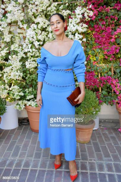 Tracee Ellis Ross attends CFDA/Vogue Fashion Fund Show and Tea at Chateau Marmont at Chateau Marmont on October 25 2017 in Los Angeles California