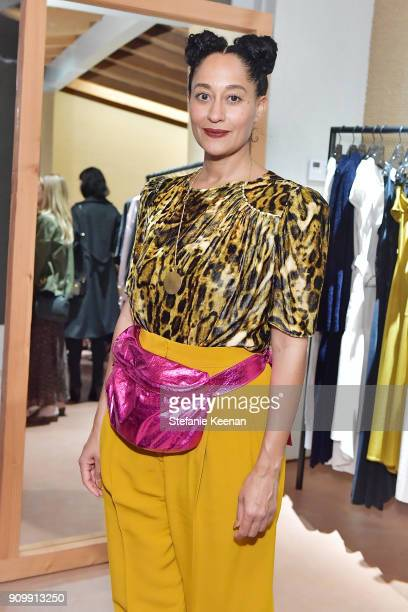 Tracee Ellis Ross attends Conde Nast The Women March's Cocktail Party to Celebrate the One Year Anniversary of the March the Publication of Together...