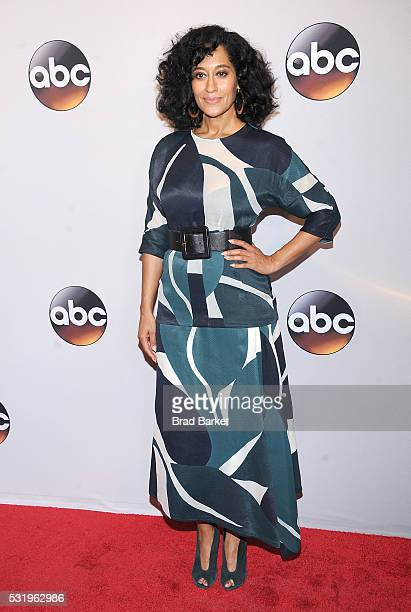 Tracee Ellis Ross attends the 2016 ABC Upfront at David Geffen Hall on May 17 2016 in New York City