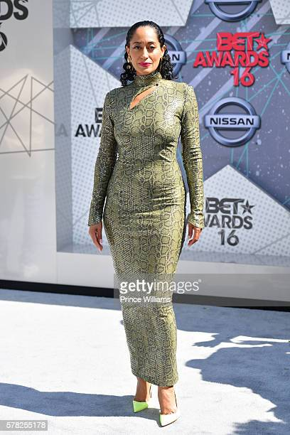 Tracee Ellis Ross attends the 2016 BET awards at Microsoft Theater on June 26 2016 in Los Angeles California