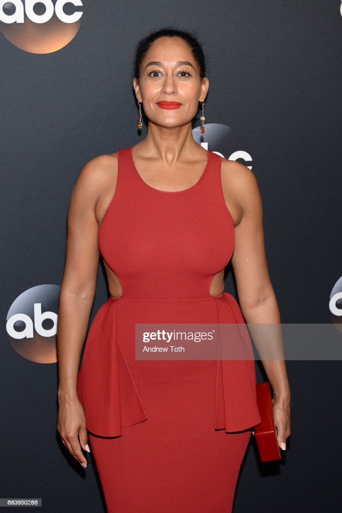 Tracee Ellis Ross attends the 2017 ABC Upfront on May 16, 2017 in New York City.