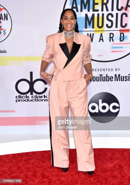 Tracee Ellis Ross attends the 2018 American Music Awards at Microsoft Theater on October 9 2018 in Los Angeles California