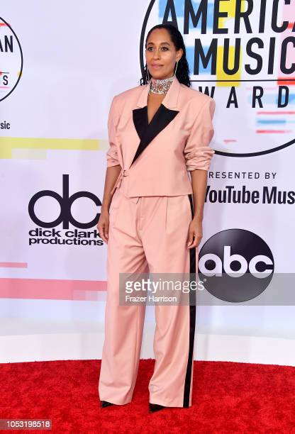 Tracee Ellis Ross attends the 2018 American Music Awards at Microsoft Theater on October 09 2018 in Los Angeles California
