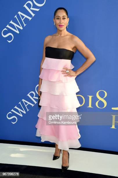Tracee Ellis Ross attends the 2018 CFDA Fashion Awards at Brooklyn Museum on June 4 2018 in New York City
