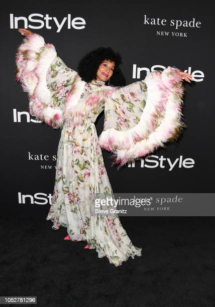 Tracee Ellis Ross attends the 2018 InStyle Awards at The Getty Center on October 22 2018 in Los Angeles California